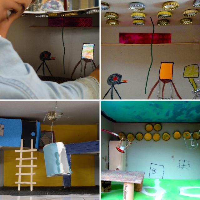 Mijn eigen kamer paulien heemskerk kinderkunsteducatie for Ontwerp je eigen kamer